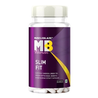 MuscleBlaze Women Slim Fit,  60 capsules  Unflavoured