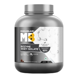 MuscleBlaze Biozyme Whey Protein Isolate,  4.4 lb  Ice Cream Chocolate